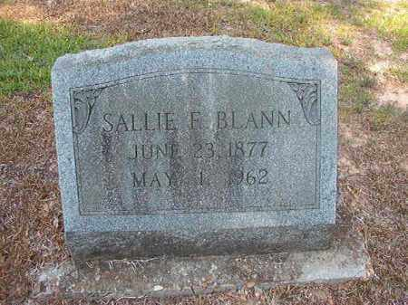 BLANN (OBIT), SALLIE E - Calhoun County, Arkansas | SALLIE E BLANN (OBIT) - Arkansas Gravestone Photos