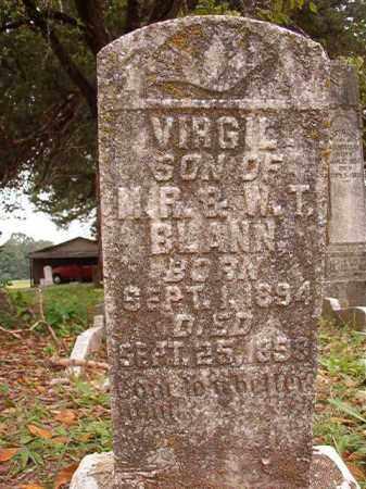 BLANN, VIRGIL - Calhoun County, Arkansas | VIRGIL BLANN - Arkansas Gravestone Photos