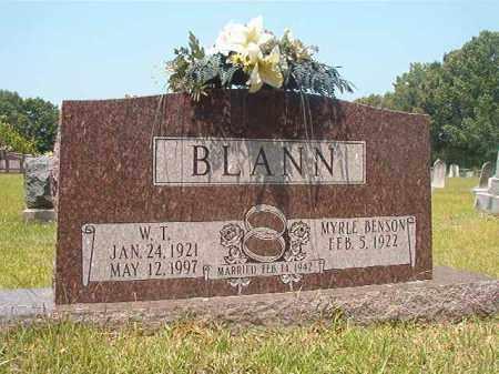 BLANN, W T - Calhoun County, Arkansas | W T BLANN - Arkansas Gravestone Photos