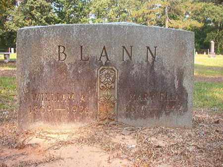 BLANN, MARY ELLA - Calhoun County, Arkansas | MARY ELLA BLANN - Arkansas Gravestone Photos