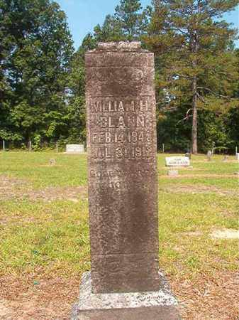 BLANN, WILLIAM H - Calhoun County, Arkansas | WILLIAM H BLANN - Arkansas Gravestone Photos