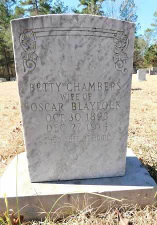 CHAMBERS BLAYLOCK, BETTY - Calhoun County, Arkansas | BETTY CHAMBERS BLAYLOCK - Arkansas Gravestone Photos