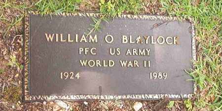 BLAYLOCK (VETERAN WWII), WILLIAM O'NEAL - Calhoun County, Arkansas | WILLIAM O'NEAL BLAYLOCK (VETERAN WWII) - Arkansas Gravestone Photos