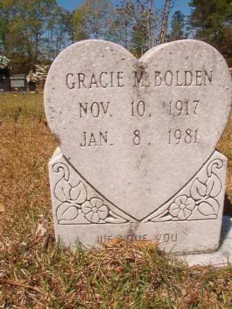 BOLDEN, GRACIE M - Calhoun County, Arkansas | GRACIE M BOLDEN - Arkansas Gravestone Photos