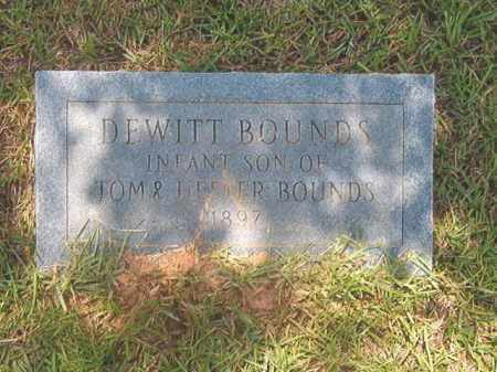BOUNDS, DEWITT - Calhoun County, Arkansas | DEWITT BOUNDS - Arkansas Gravestone Photos