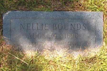 BOUNDS, NELLIE - Calhoun County, Arkansas | NELLIE BOUNDS - Arkansas Gravestone Photos