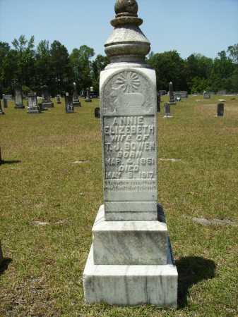 BOWEN, ANNIE ELIZEBETH - Calhoun County, Arkansas | ANNIE ELIZEBETH BOWEN - Arkansas Gravestone Photos