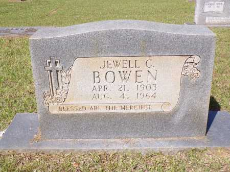 BOWEN, JEWELL CLYDE - Calhoun County, Arkansas | JEWELL CLYDE BOWEN - Arkansas Gravestone Photos