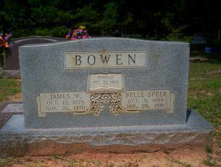 BOWEN, JAMES W - Calhoun County, Arkansas | JAMES W BOWEN - Arkansas Gravestone Photos