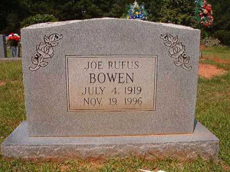BOWEN, JOE RUFUS - Calhoun County, Arkansas | JOE RUFUS BOWEN - Arkansas Gravestone Photos