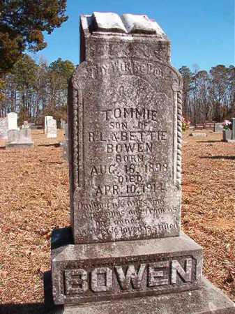 "BOWEN, THOMAS R ""TOMMIE"" - Calhoun County, Arkansas 