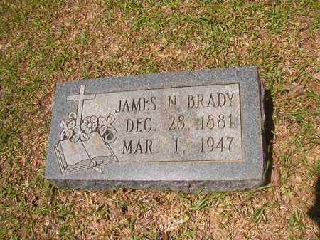 BRADY, JAMES N - Calhoun County, Arkansas | JAMES N BRADY - Arkansas Gravestone Photos