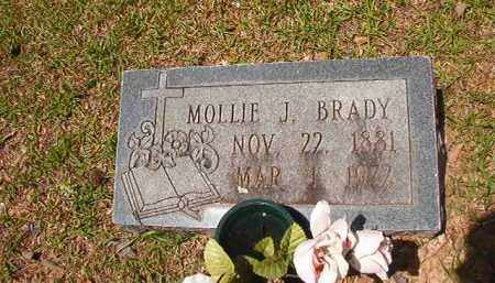 BRADY, MOLLIE J - Calhoun County, Arkansas | MOLLIE J BRADY - Arkansas Gravestone Photos