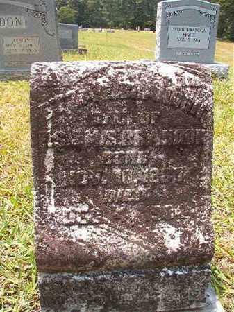 BRANDON, ETTA E - Calhoun County, Arkansas | ETTA E BRANDON - Arkansas Gravestone Photos