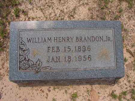 BRANDON, JR, WILLIAM HENRY - Calhoun County, Arkansas | WILLIAM HENRY BRANDON, JR - Arkansas Gravestone Photos