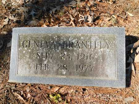 BRANTLEY, GENEVA - Calhoun County, Arkansas | GENEVA BRANTLEY - Arkansas Gravestone Photos