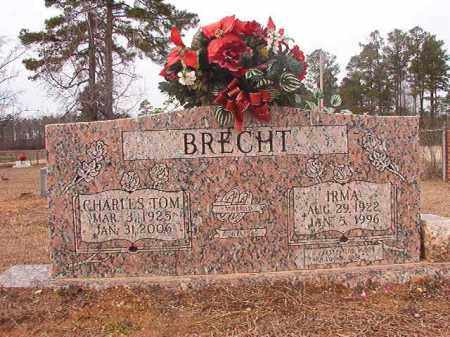 BRECHT, CHARLES TOM - Calhoun County, Arkansas | CHARLES TOM BRECHT - Arkansas Gravestone Photos