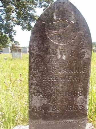 BREWER, IDA E - Calhoun County, Arkansas | IDA E BREWER - Arkansas Gravestone Photos