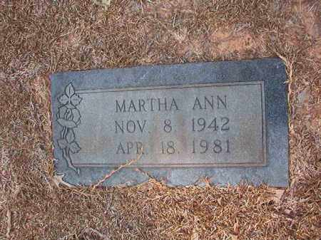 BRIDWELL, MARTHA ANN - Calhoun County, Arkansas | MARTHA ANN BRIDWELL - Arkansas Gravestone Photos
