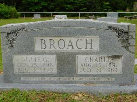 BROACH, CHARLIE - Calhoun County, Arkansas | CHARLIE BROACH - Arkansas Gravestone Photos