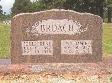BROACH, WILLIAM H - Calhoun County, Arkansas | WILLIAM H BROACH - Arkansas Gravestone Photos