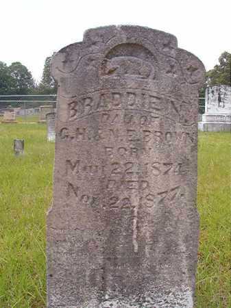 BROWN, BRADDIE N - Calhoun County, Arkansas | BRADDIE N BROWN - Arkansas Gravestone Photos