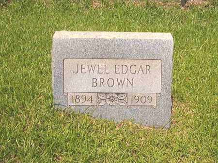BROWN, JEWEL EDGAR - Calhoun County, Arkansas | JEWEL EDGAR BROWN - Arkansas Gravestone Photos