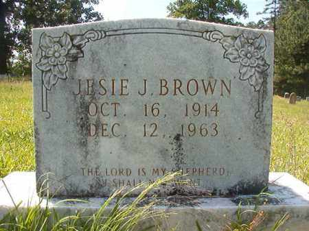 BROWN, JESIE J - Calhoun County, Arkansas | JESIE J BROWN - Arkansas Gravestone Photos