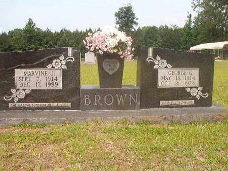 BROWN, GEORGE G - Calhoun County, Arkansas | GEORGE G BROWN - Arkansas Gravestone Photos