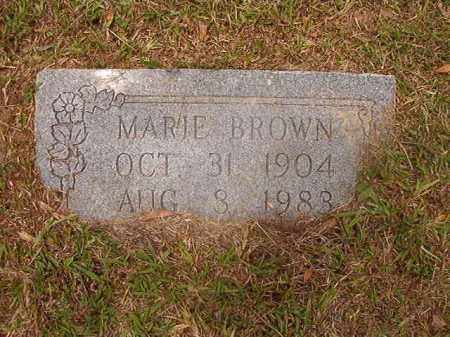 BROWN, MARIE - Calhoun County, Arkansas | MARIE BROWN - Arkansas Gravestone Photos