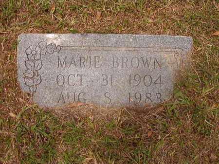 BROWN, MARIE - Calhoun County, Arkansas | MARIE BROWN - Arkansas Gravestone Photos