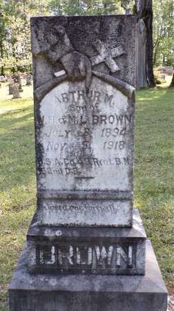 BROWN (VETERAN), ARTHUR M - Calhoun County, Arkansas | ARTHUR M BROWN (VETERAN) - Arkansas Gravestone Photos