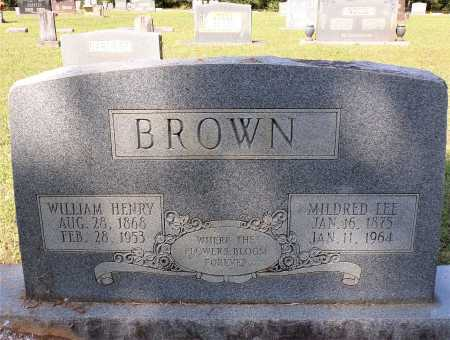 BROWN, WILLIAM HENRY - Calhoun County, Arkansas | WILLIAM HENRY BROWN - Arkansas Gravestone Photos
