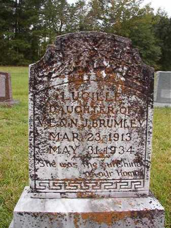 BRUMLEY, LUCILLE - Calhoun County, Arkansas | LUCILLE BRUMLEY - Arkansas Gravestone Photos