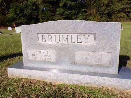 BRUMLEY, NETTIE J - Calhoun County, Arkansas | NETTIE J BRUMLEY - Arkansas Gravestone Photos