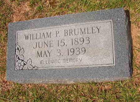 BRUMLEY, WILLIAM P - Calhoun County, Arkansas | WILLIAM P BRUMLEY - Arkansas Gravestone Photos