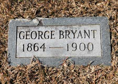 BRYANT, GEORGE - Calhoun County, Arkansas | GEORGE BRYANT - Arkansas Gravestone Photos