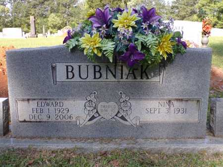 BUBNIAK, EDWARD - Calhoun County, Arkansas | EDWARD BUBNIAK - Arkansas Gravestone Photos