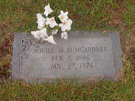 BUMGARDNER, AQUILL H - Calhoun County, Arkansas | AQUILL H BUMGARDNER - Arkansas Gravestone Photos
