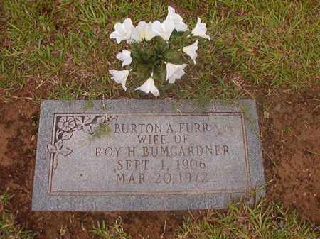 BUMGARDNER, BURTON A - Calhoun County, Arkansas | BURTON A BUMGARDNER - Arkansas Gravestone Photos