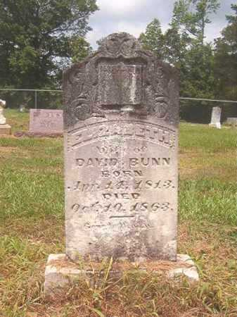 BUNN, ELIZABETH - Calhoun County, Arkansas | ELIZABETH BUNN - Arkansas Gravestone Photos