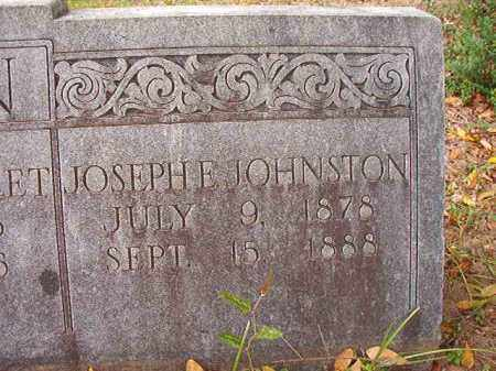 BUNN, JOSEPH E JOHNSTON - Calhoun County, Arkansas | JOSEPH E JOHNSTON BUNN - Arkansas Gravestone Photos