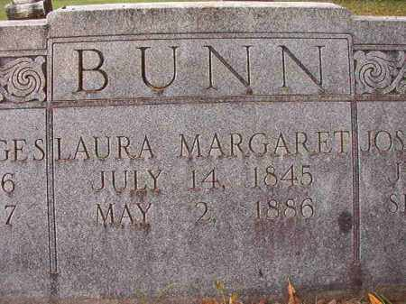 BUNN, LAURA MARGARET (CLOSEUP) - Calhoun County, Arkansas | LAURA MARGARET (CLOSEUP) BUNN - Arkansas Gravestone Photos
