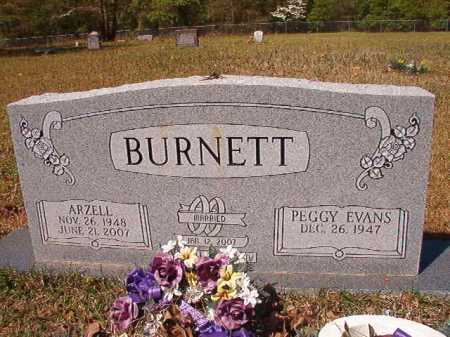 BURNETT, ARZELL - Calhoun County, Arkansas | ARZELL BURNETT - Arkansas Gravestone Photos