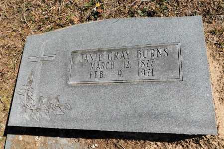 BURNS, JANIE - Calhoun County, Arkansas | JANIE BURNS - Arkansas Gravestone Photos