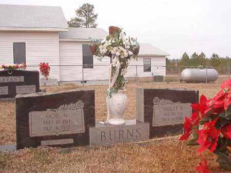 BURNS, OCIE N - Calhoun County, Arkansas | OCIE N BURNS - Arkansas Gravestone Photos