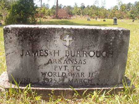 BURROUGH (VETERAN WWII), JAMES H - Calhoun County, Arkansas | JAMES H BURROUGH (VETERAN WWII) - Arkansas Gravestone Photos