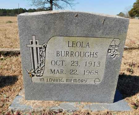 BURROUGHS, LEOLA - Calhoun County, Arkansas | LEOLA BURROUGHS - Arkansas Gravestone Photos
