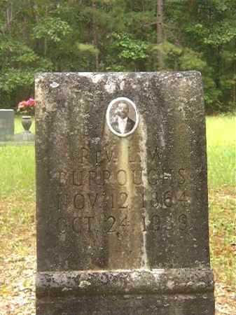 BURROUGHS, REV, L W - Calhoun County, Arkansas | L W BURROUGHS, REV - Arkansas Gravestone Photos