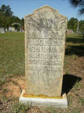 BURSON, JOE C - Calhoun County, Arkansas | JOE C BURSON - Arkansas Gravestone Photos